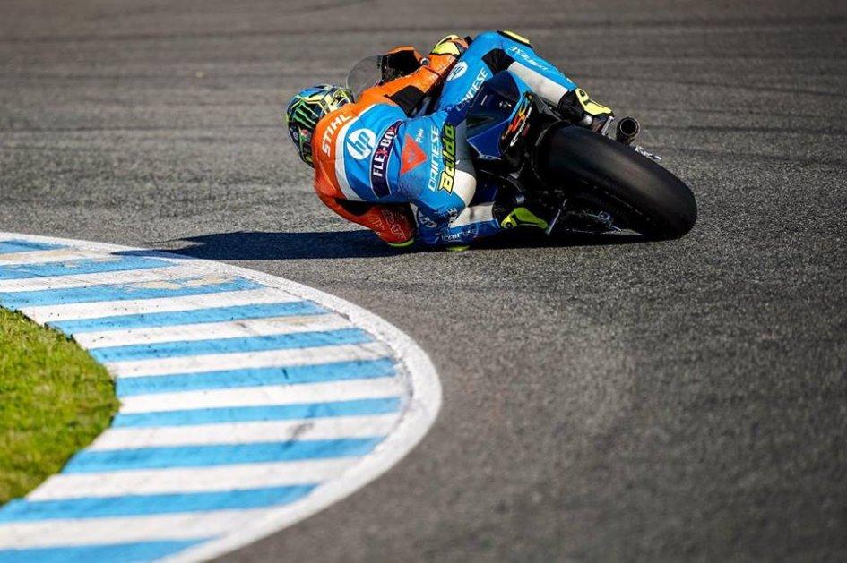 Moto2: Test Jerez: Baldassarri sigla il miglior crono, Martin subito Ko