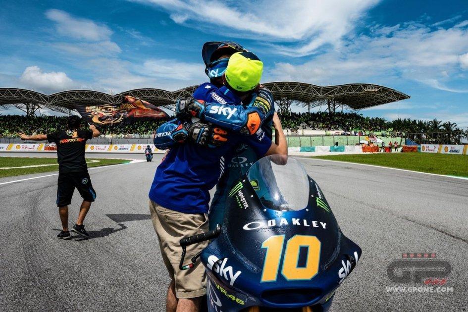 """Moto2: Marini: """"Vincere è figo, ora devo ispirarmi a Bagnaia"""""""