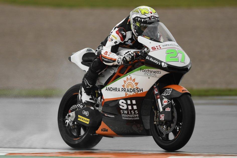 Moto2: FP1: Lecuona mago della pioggia, 5° Baldassarri