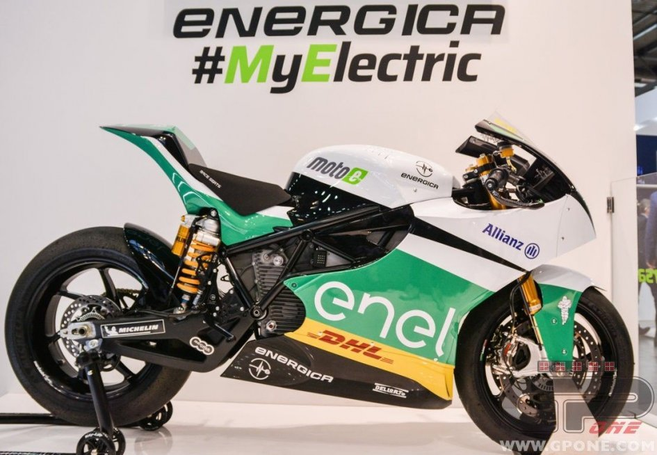 MotoE: The world championship Energica debuts at EICMA