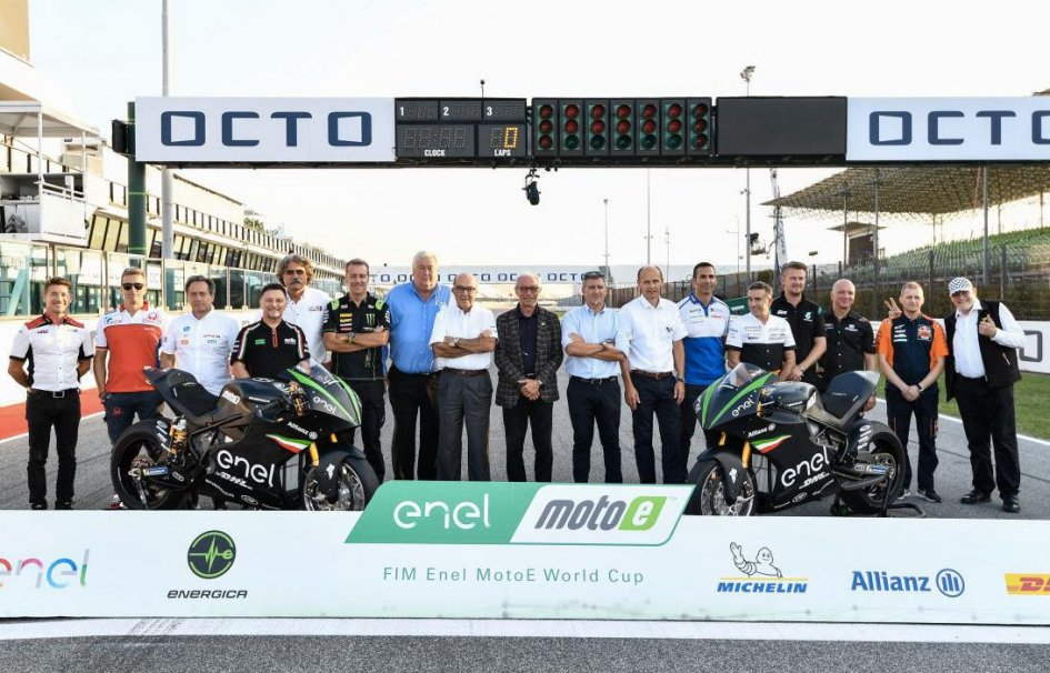 MotoE: The riders dream of electric bikes