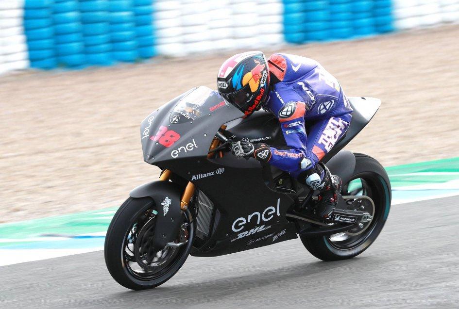 MotoE: Jerez test: Smithbeats the rain, 1st on Saturday, Casadei 4th