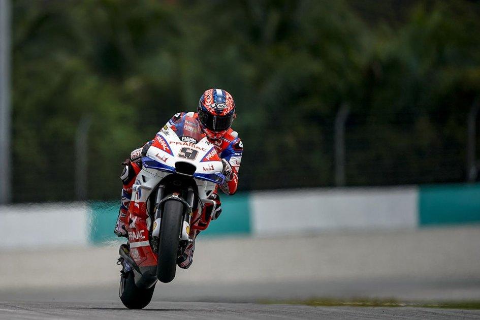 """MotoGP: Petrucci: """"Ho sbagliato gomma, potevo essere in prima fila"""""""