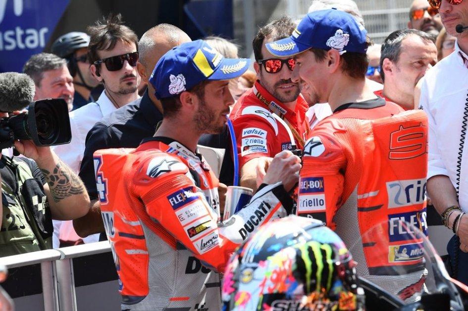 MotoGP: Dovizioso-Lorenzo: niente strette di mano a EICMA