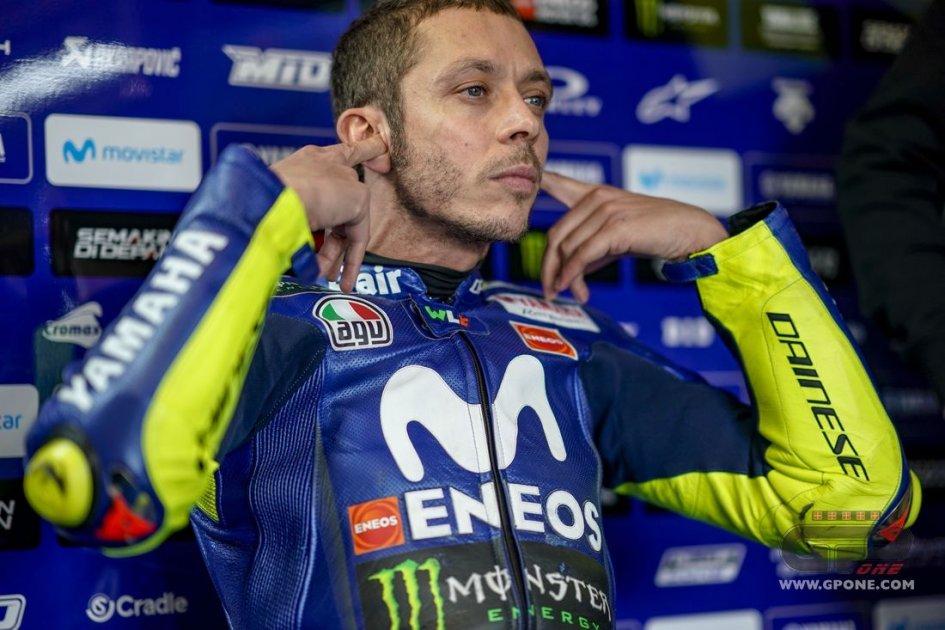 MotoGP: Rossi: A Valencia mai stato veloce, ma la Yamaha è migliorata