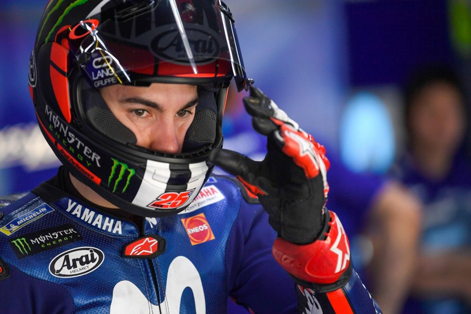"""MotoGP: Vinales contradicts Rossi: """"I'm more competitive with the new engine"""""""