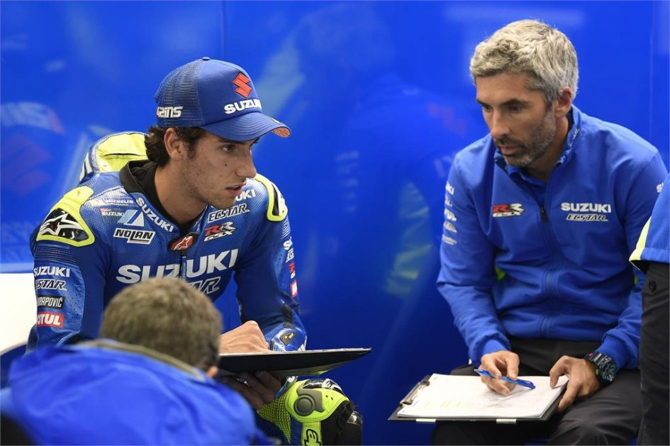 "MotoGP: Rins: ""The Suzuki and I have a fire inside"""