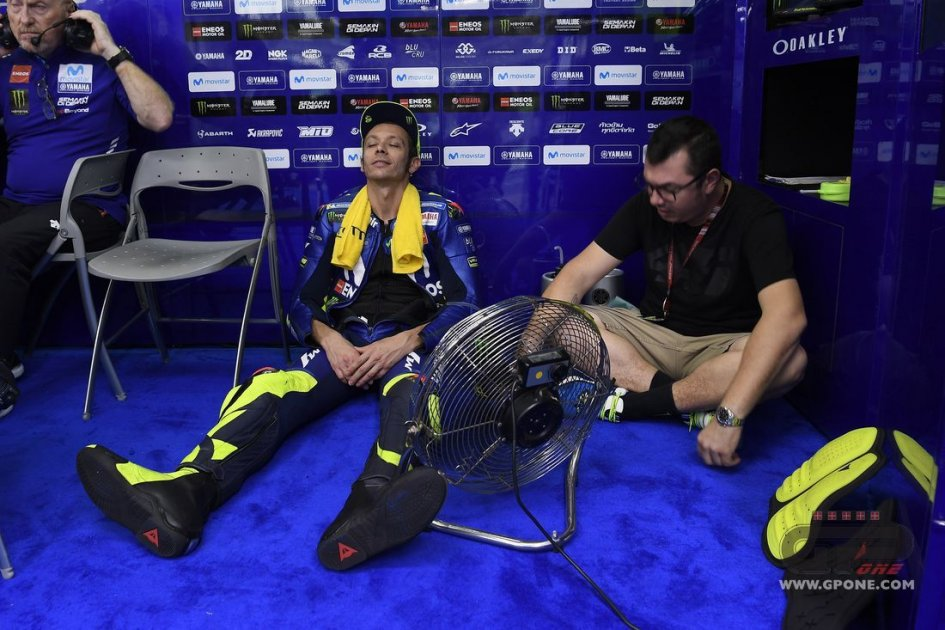 "MotoGP: Rossi: ""We need to race tomorrow... I'm running out of toothpaste"""