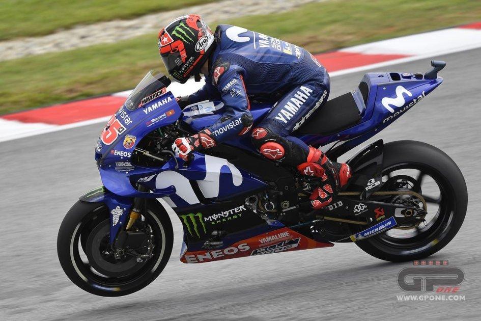 MotoGP: FP3: Vinales vola a Sepang, Marquez 2°