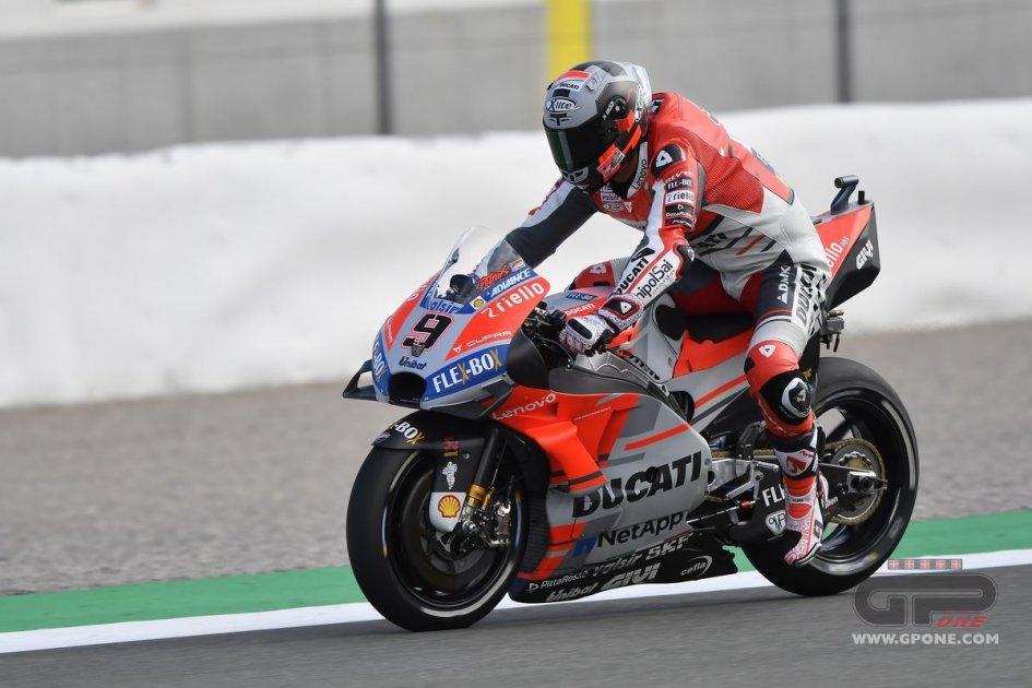 """MotoGP: Petrucci: """"Il primo giorno in rosso? Emozionante, ma resto concentrato"""""""