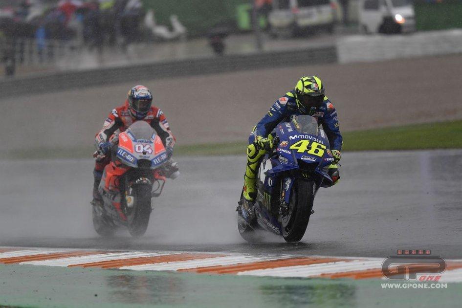 "MotoGP: Valentino: ""Senza bandiera rossa, avrei vinto io"""