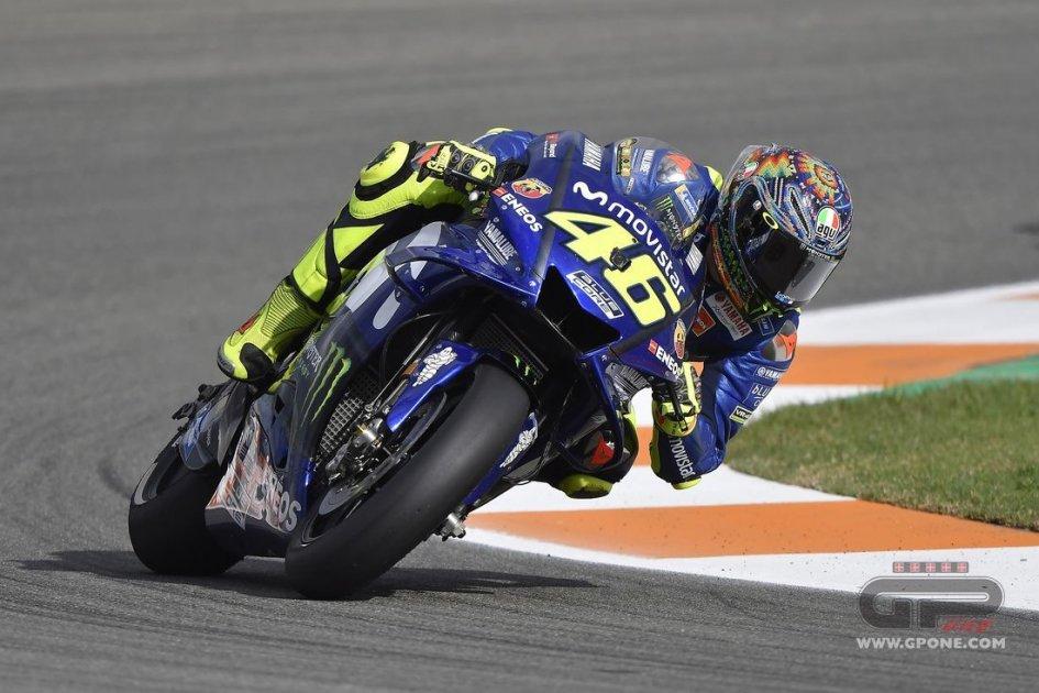 """MotoGP: Rossi: """"Con il nuovo motore la Yamaha è più facile"""""""