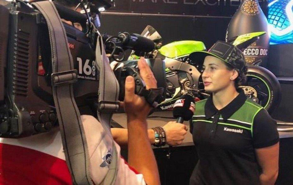 SBK: Ana Carrasco: un futuro in Superbike? Solo quando Rea si ritirerà