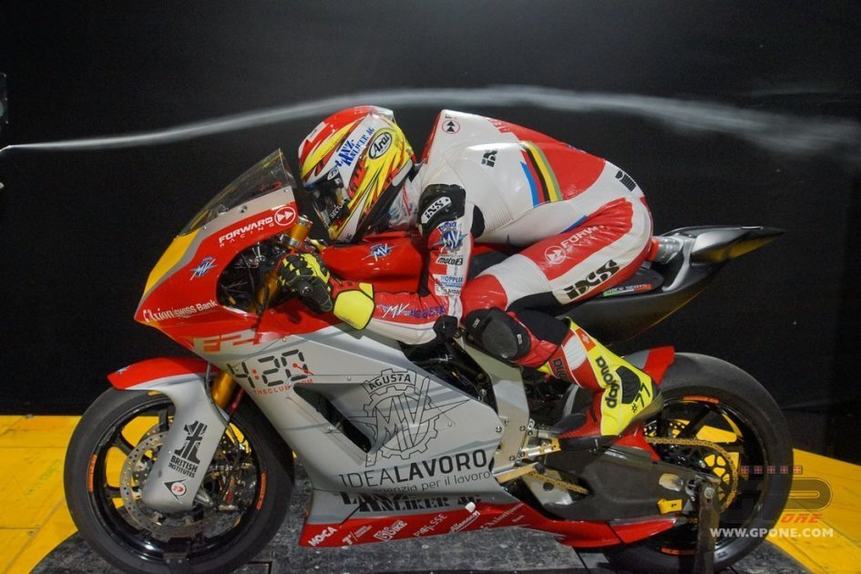 Moto2: MV Agusta is sculpted by the wind