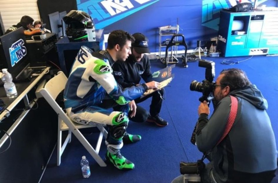"""Moto2: Bastianini: ora ci sono due """"Bestie"""": io e la mia Moto2"""