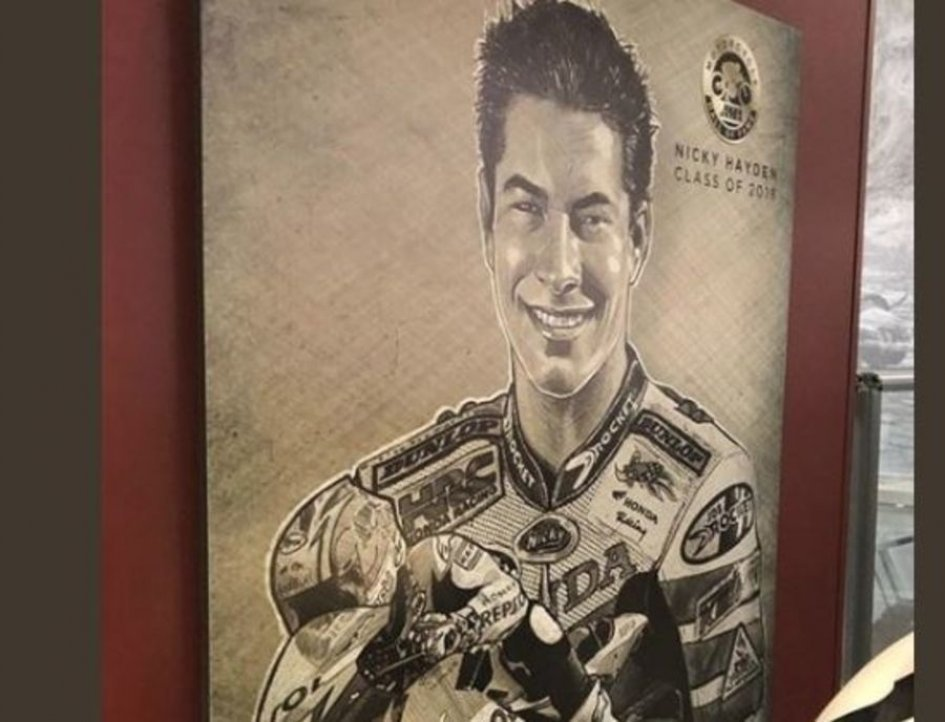 MotoAmerica: Nicky Hayden entra nella Hall of Fame dell'AMA USA