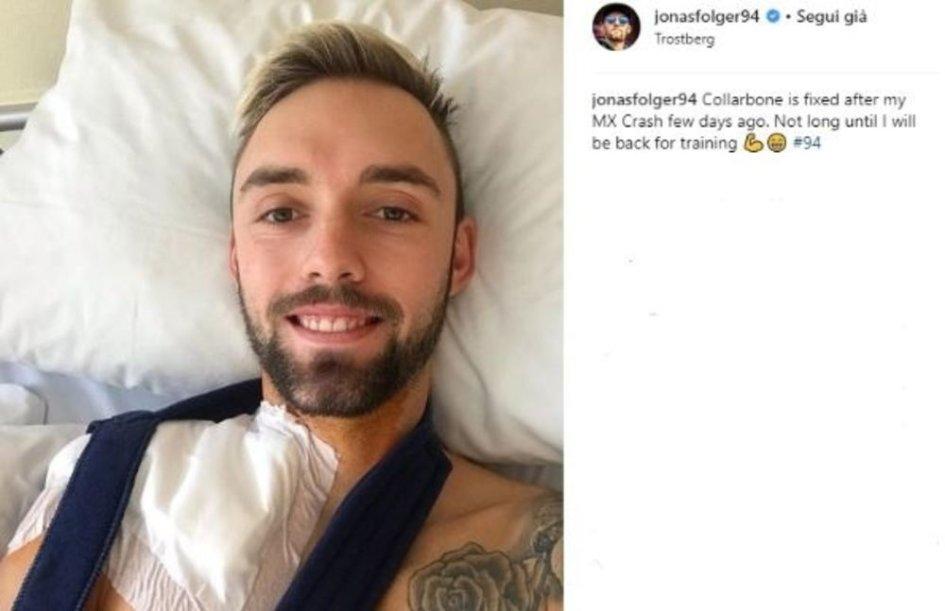 MotoGP: Frattura in allenamento per Folger, già operato alla spalla