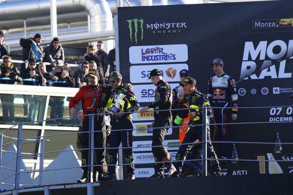 News: Settebello di Valentino Rossi al Monza Rally Show