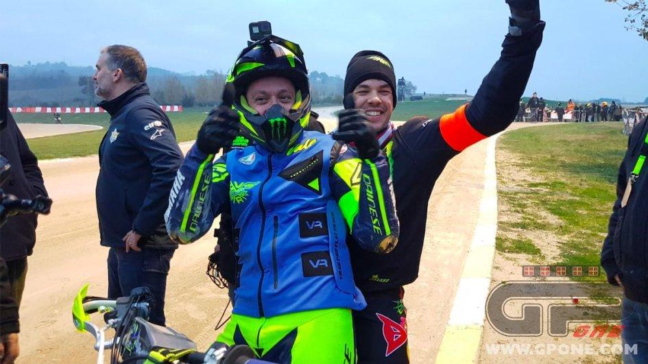 News: Rossi e Morbidelli vincono la 100 km dei Campioni