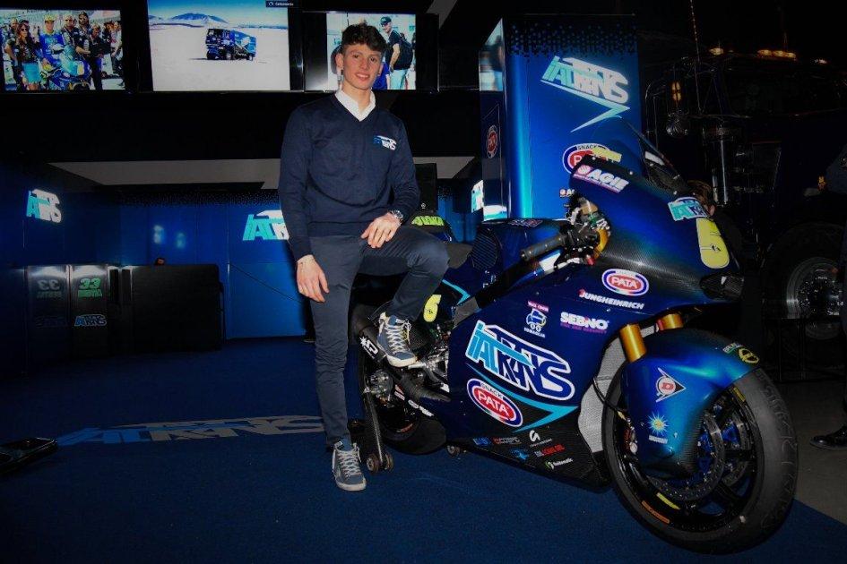 """Moto2: Locatelli: """"Il Mondiale lo preparo facendo su e giù per i monti"""""""