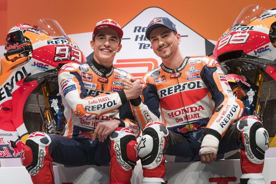 MotoGP: Tutte le foto della presentazione del Team Honda Repsol 2019