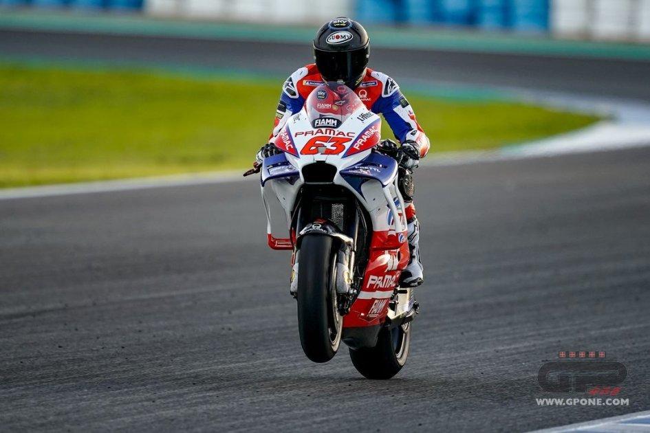 """MotoGP: Bagnaia: """"Riesco a guidare la Ducati come voglio"""""""