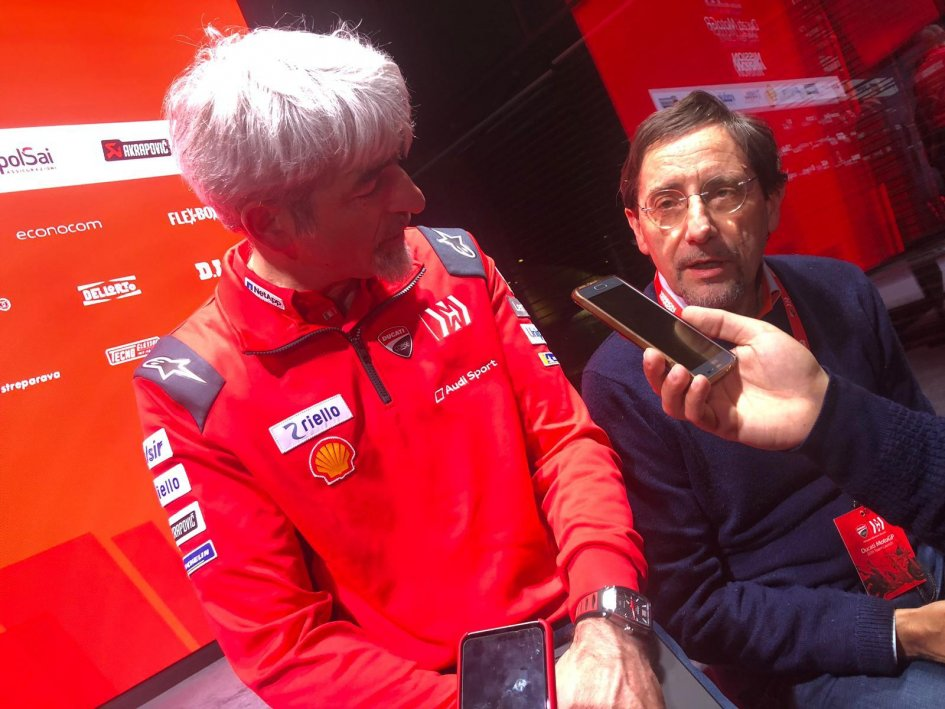 """MotoGP: Dall'Igna: """"My ideal Ducati? The one with which I'll win the title"""""""