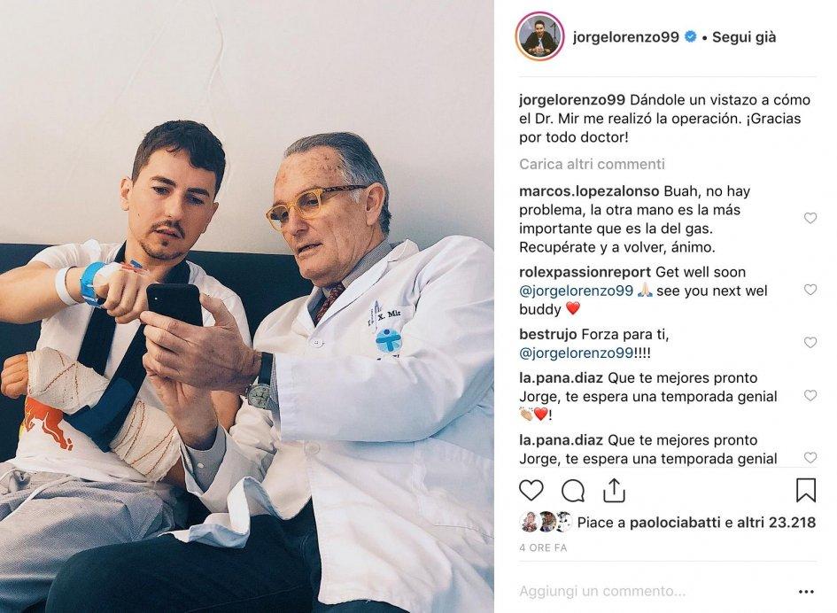 MotoGP: Lorenzo: Dr. Mir show me how you did it