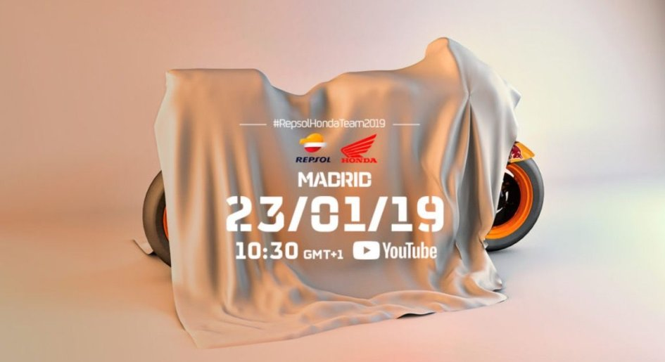 MotoGP: La presentazione del team Repsol Honda in live streaming