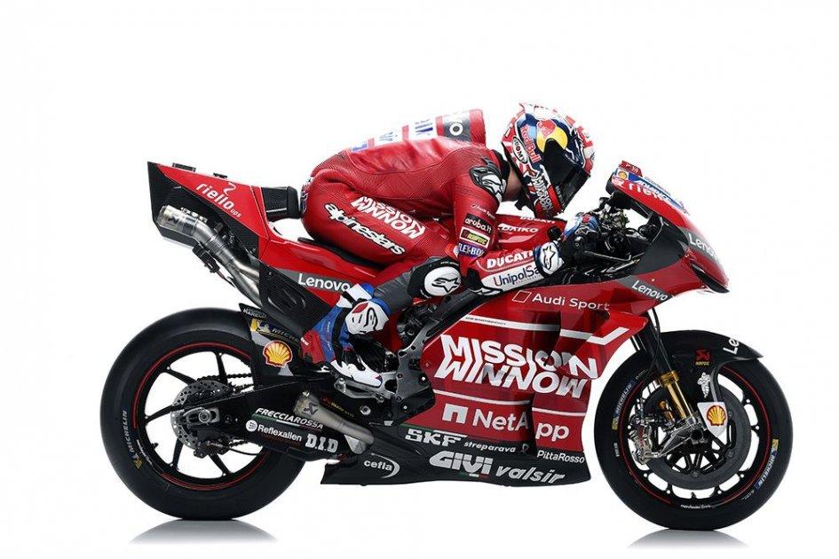 MotoGP: Ducati chooses full red: introducing the GP19