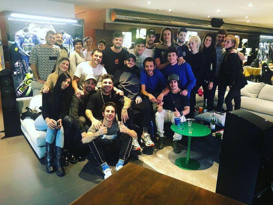 News: Bryan Toccaceli, domenica a Tavullia a casa di Valentino Rossi