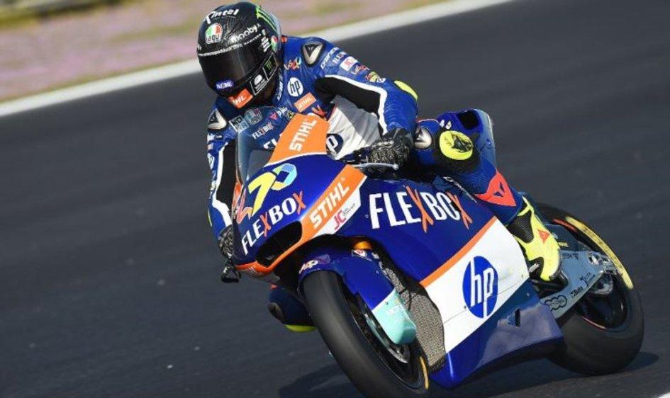 Moto2: Baldassarri in scia a Marquez nel mattino di Jerez