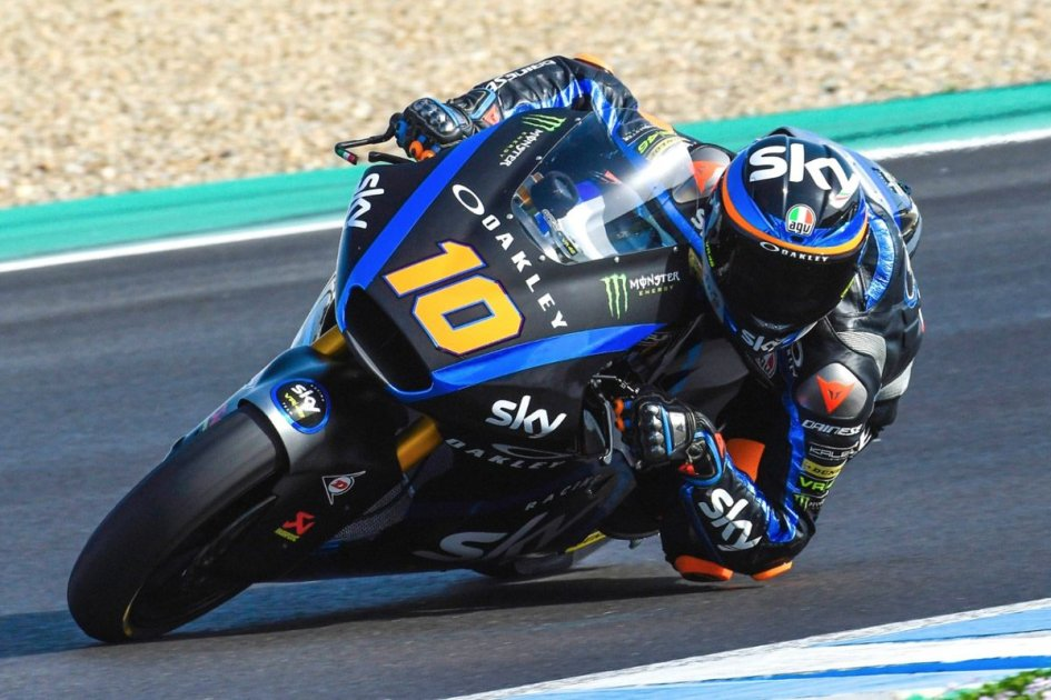 Moto2: Marini chiude da leader la prima giornata di test a Jerez