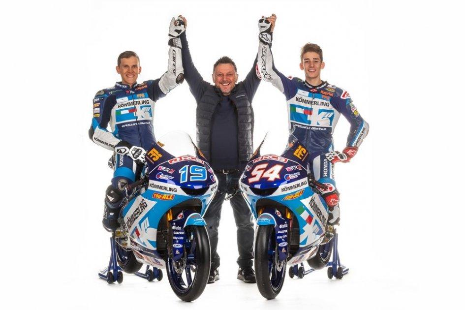 Moto3: Team Gresini all'anno zero: nuovi piloti, stesso obiettivo