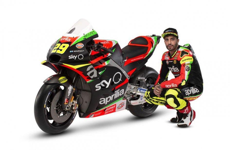 MotoGP: Aprilia unveils the RS-GP 2019 for Iannone and A.Espargarò