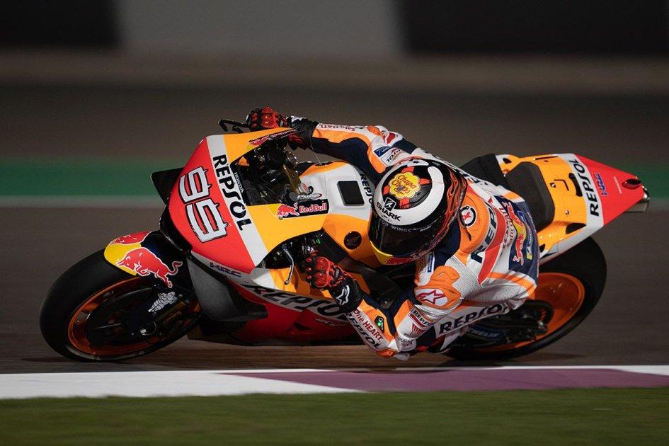 """MotoGP: Lorenzo: """"Guardo i dati di Marquez e per ora sono lontano"""""""