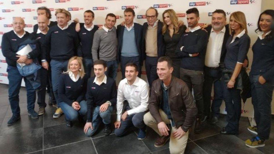 MotoGP: Mattia Pasini commentatore tecnico a Sky Motori 2019