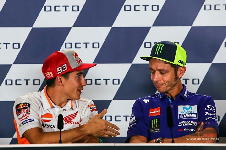 """MotoGP: Marquez: """"A Rossi non tenderò più la mano"""""""