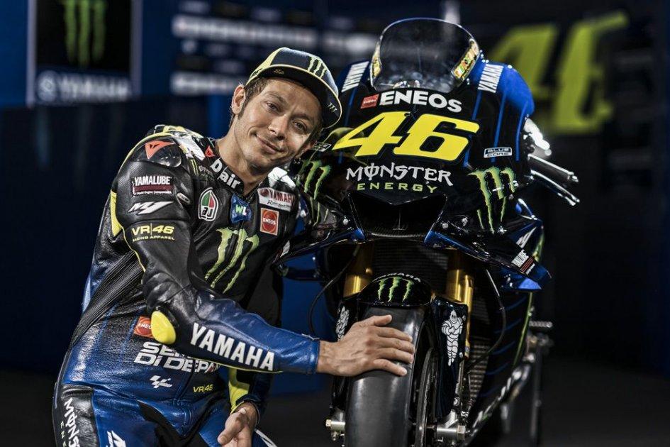 """MotoGP: Rossi: """"A 40 anni per vincere devi soffrire"""""""