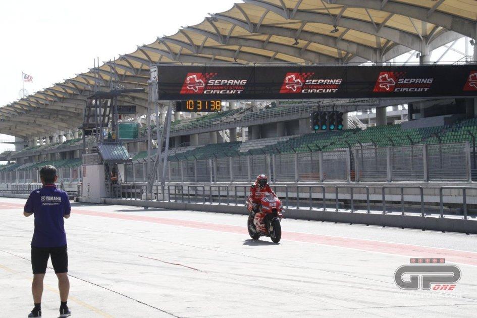 MotoGP: LIVE: diretta da Sepang dell'ultima giornata di test shakedown