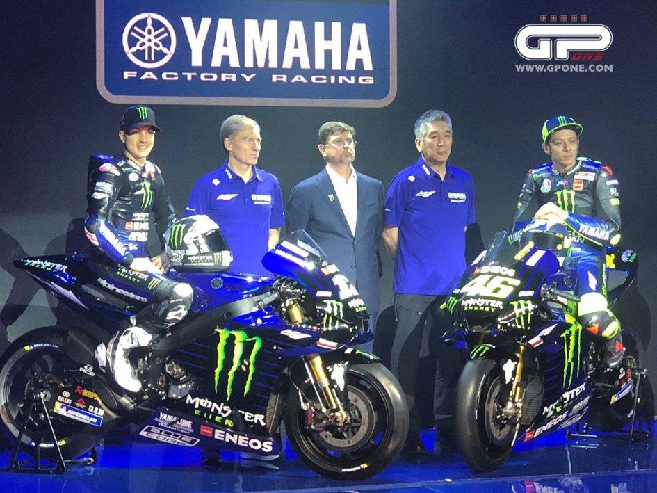 MotoGP: Ecco la Yamaha M1 di Valentino Rossi nei colori Monster