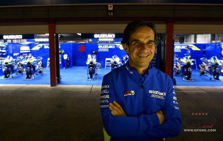 """MotoGP: Brivio: """"Ho detto a Rins: devi essere il capitano di Suzuki"""""""