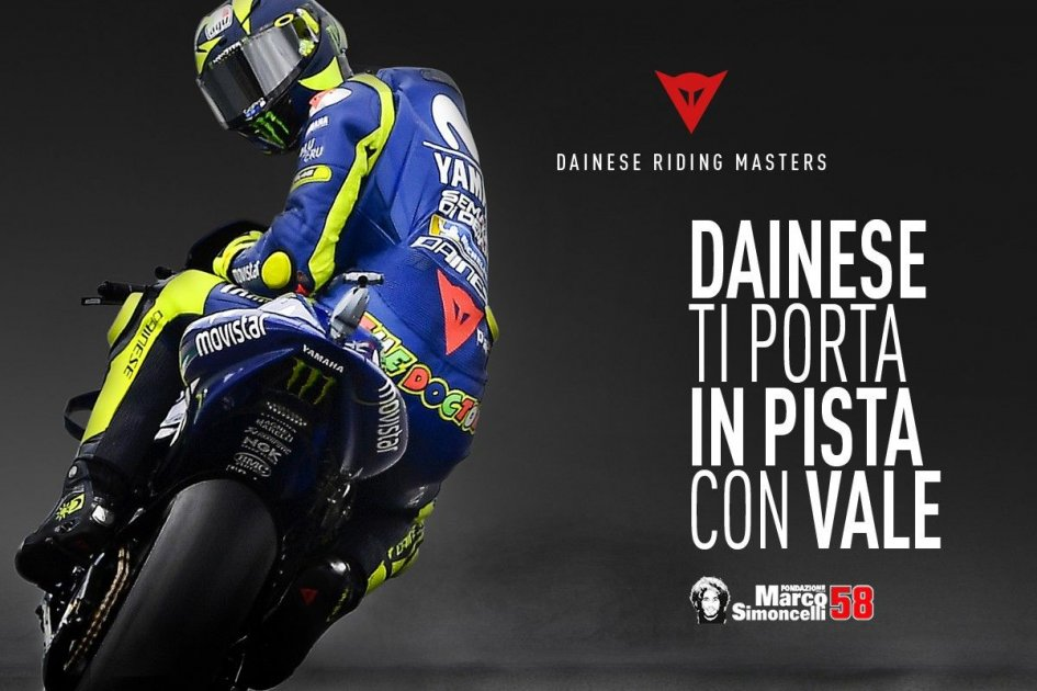 News: Dainese Riding Masters: Il Dottore sale in cattedra a Misano