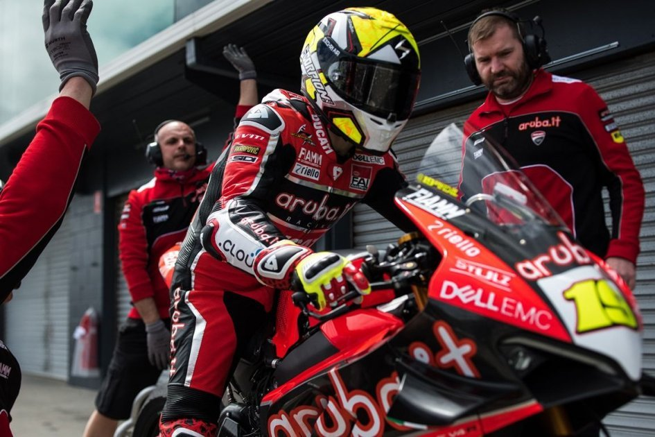 "SBK: Bautista: ""The Panigale V4 and me are now one"""