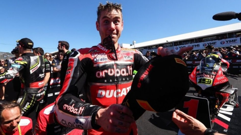 """SBK: Bautista: """"Just because I won doesn't mean that the SBK level is low"""""""