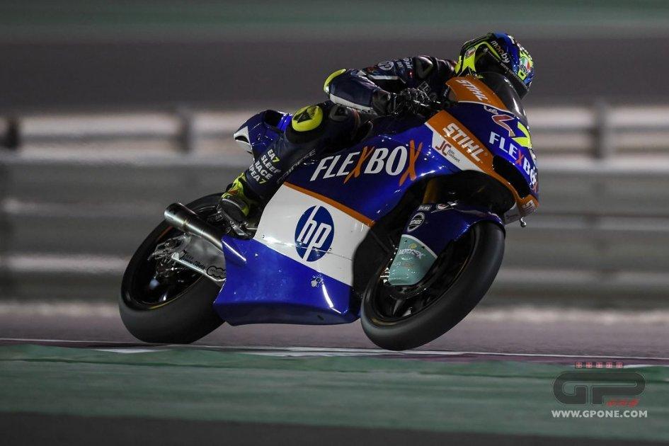 Moto2: FP2: Baldassarri in vetta, 7° Locatelli