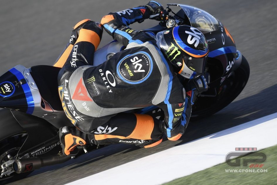 Moto2: Photogallery: Test a Losail