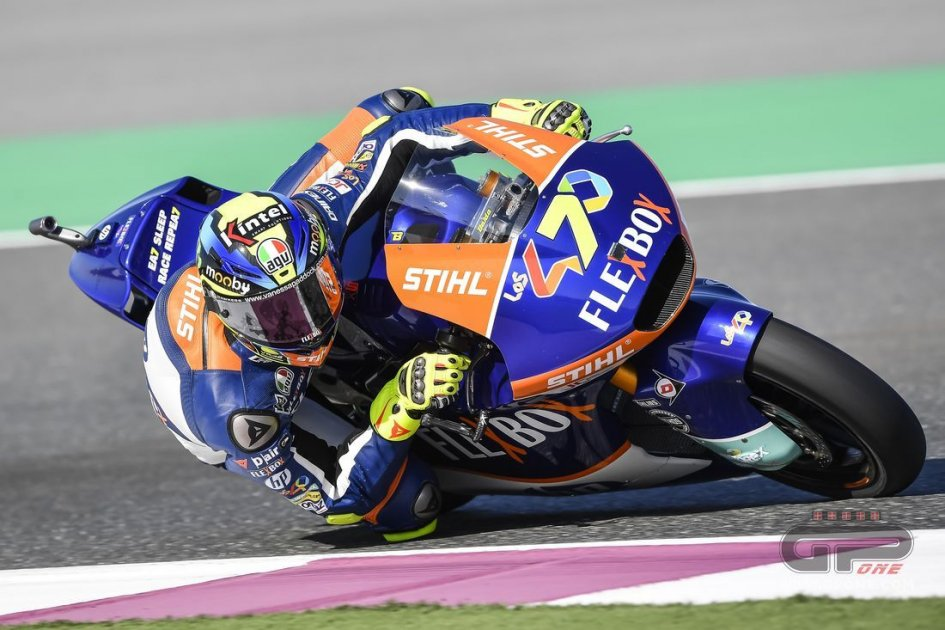 Moto2: FP3: a Losail Baldassarri comanda, Marini costretto alla Q1