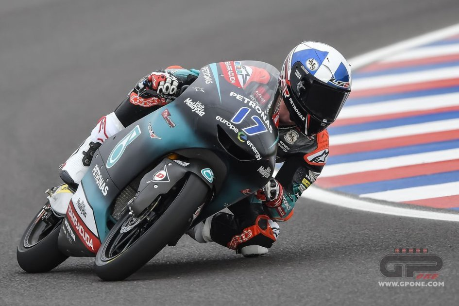 Moto3: FP3: A Termas McPhee guida i 14 che vanno direttamente in Q2
