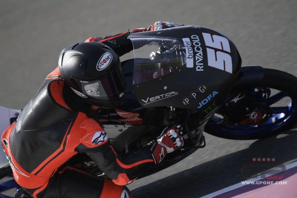 Moto3: Romano Fenati e la Honda brillano nei test di Losail